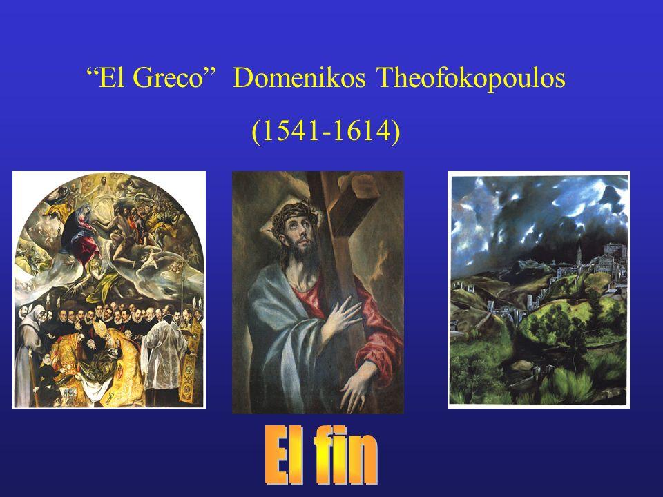 El Greco Domenikos Theofokopoulos