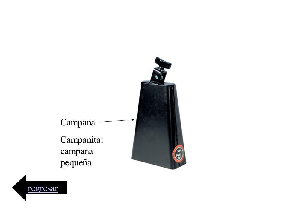 Campana Campanita:campana pequeña regresar