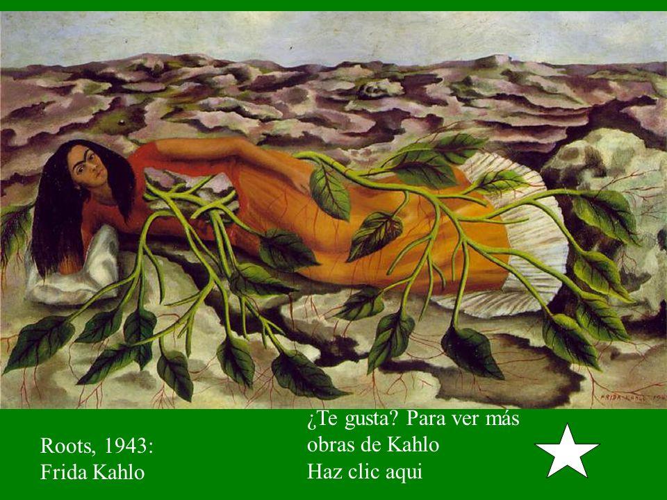 ¿Te gusta Para ver más obras de Kahlo Haz clic aqui