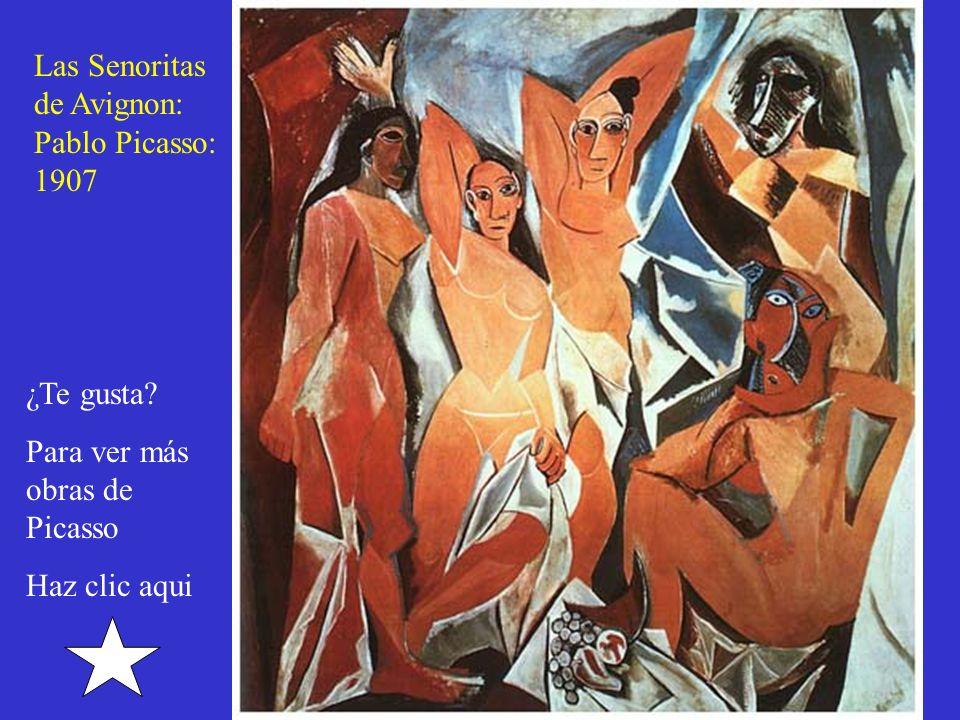 Las Senoritas de Avignon: Pablo Picasso: 1907. ¿Te gusta.