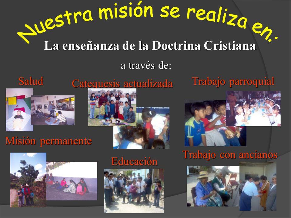 La enseñanza de la Doctrina Cristiana