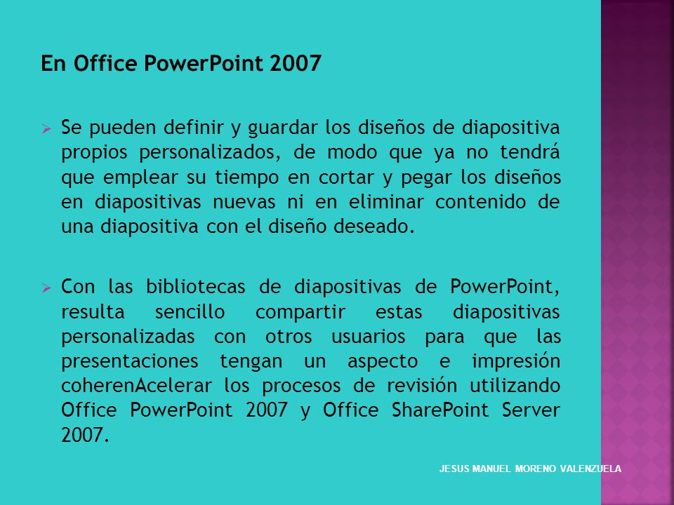 En Office PowerPoint 2007