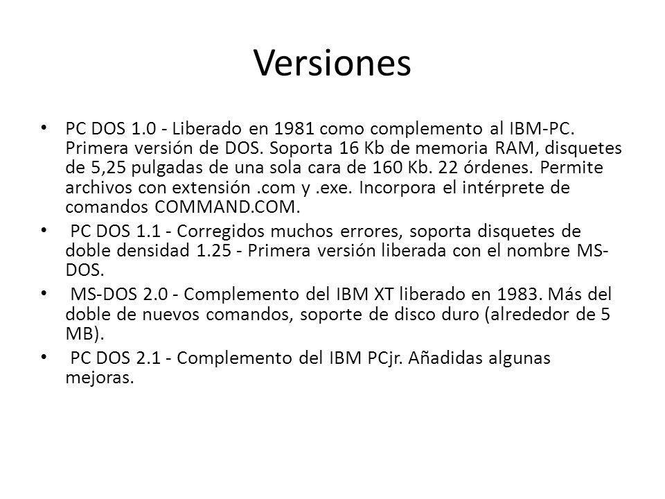 Versiones
