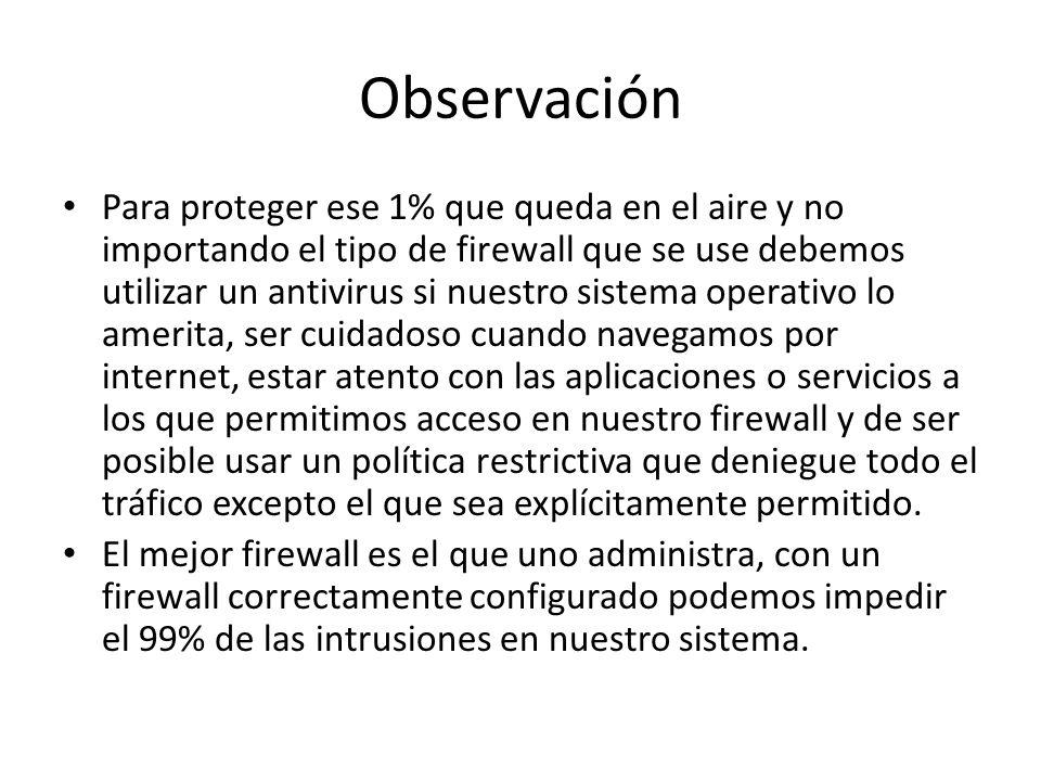 Observación