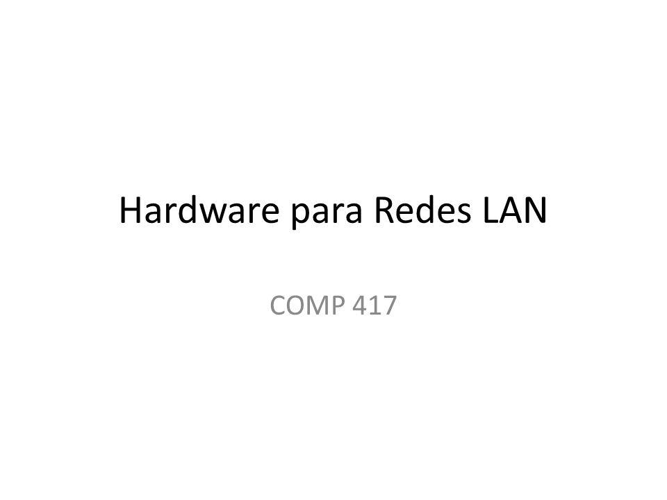 Hardware para Redes LAN
