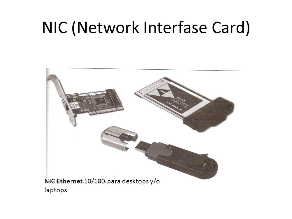 NIC (Network Interfase Card)