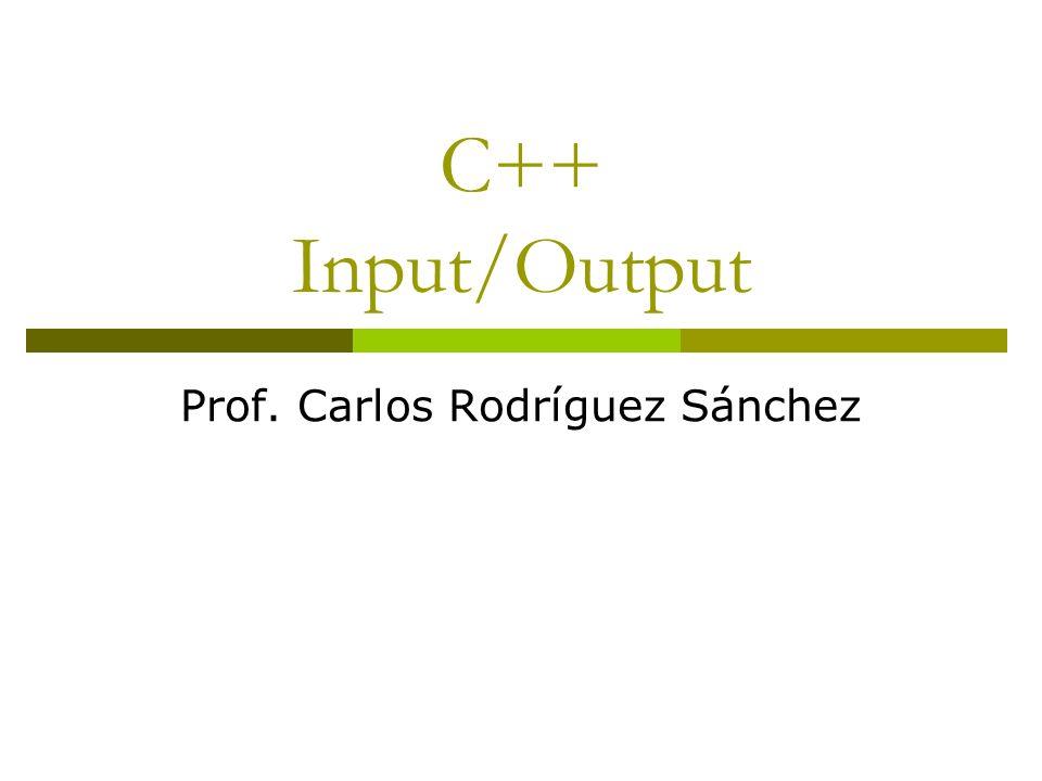 Prof. Carlos Rodríguez Sánchez