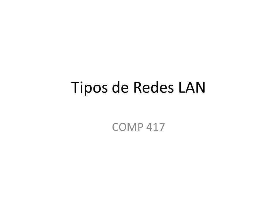 Tipos de Redes LAN COMP 417