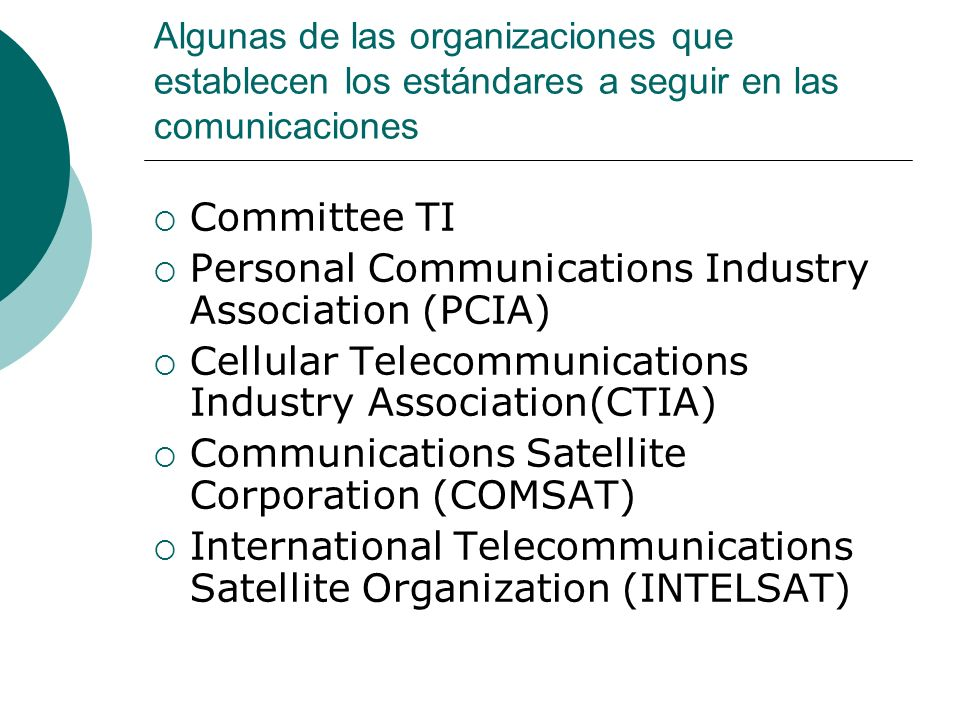 Personal Communications Industry Association (PCIA)