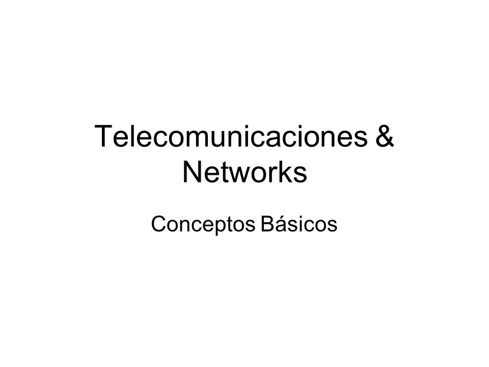 Telecomunicaciones & Networks
