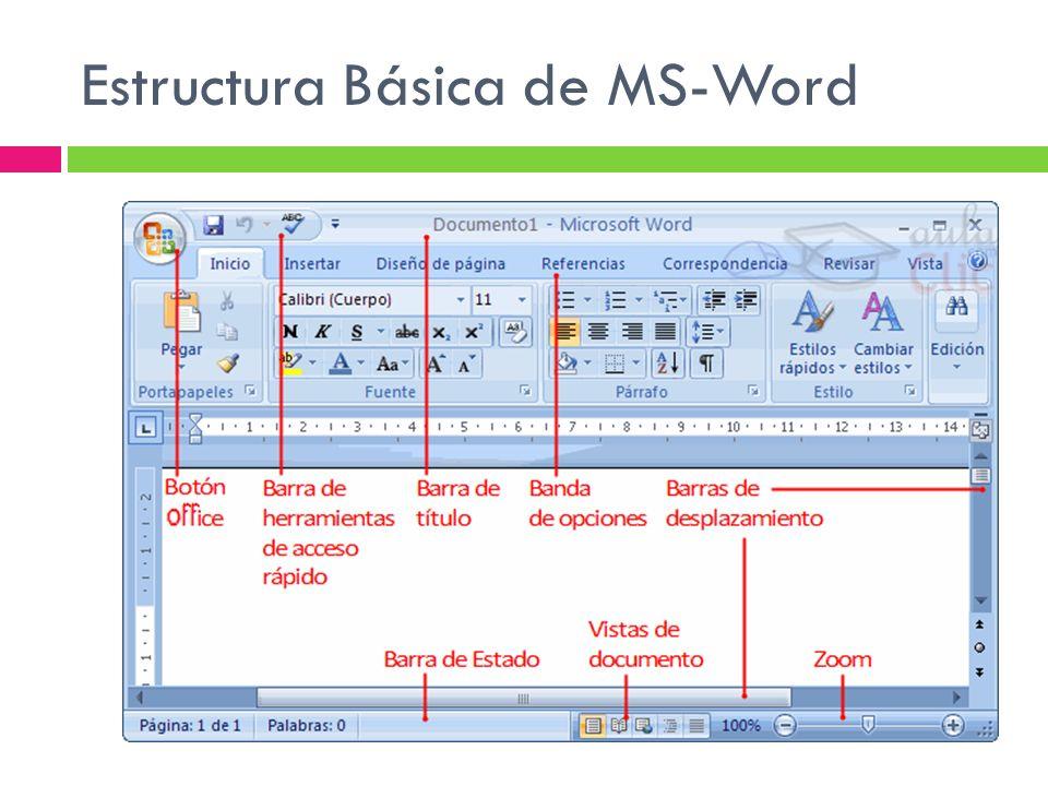 introducci u00f3n a microsoft word