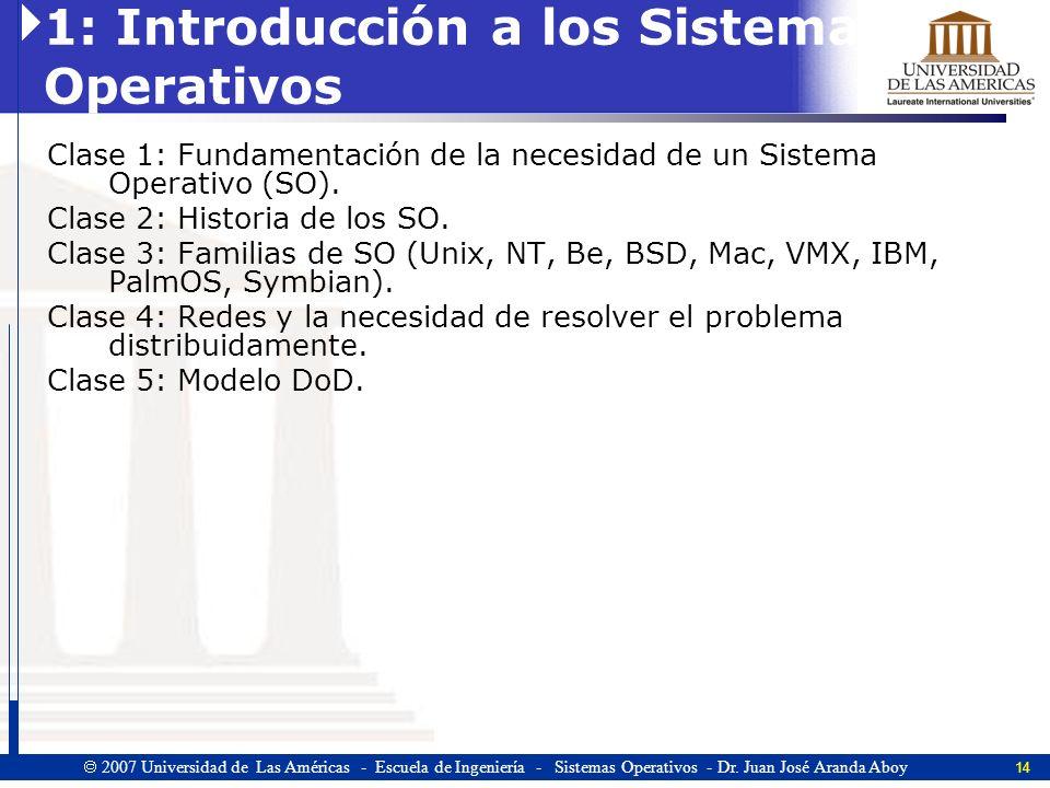 1: Introducción a los Sistemas Operativos