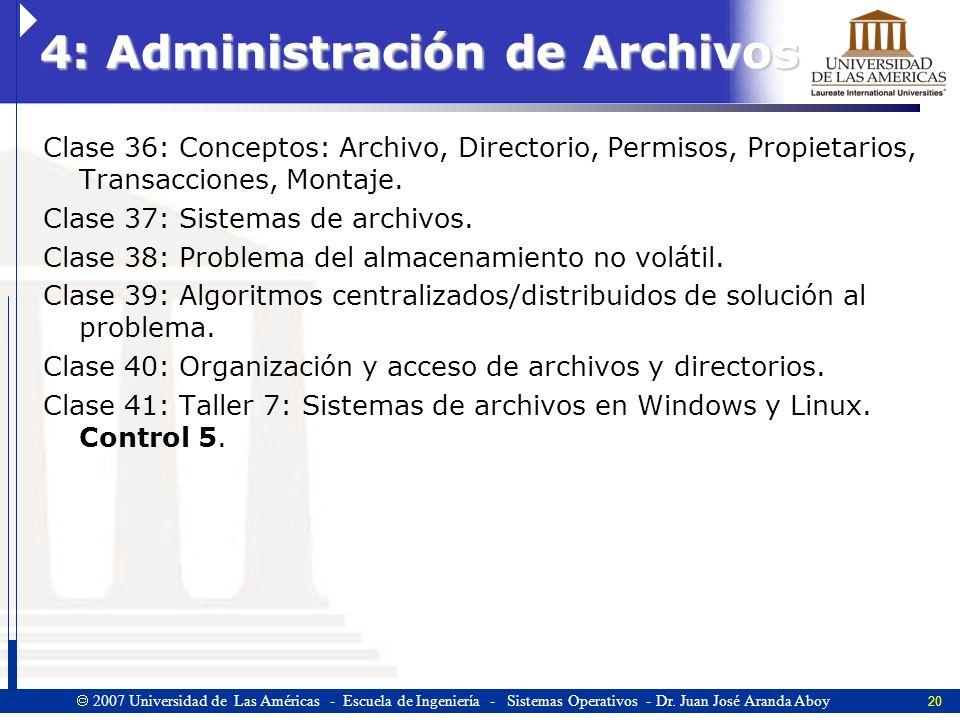 4: Administración de Archivos