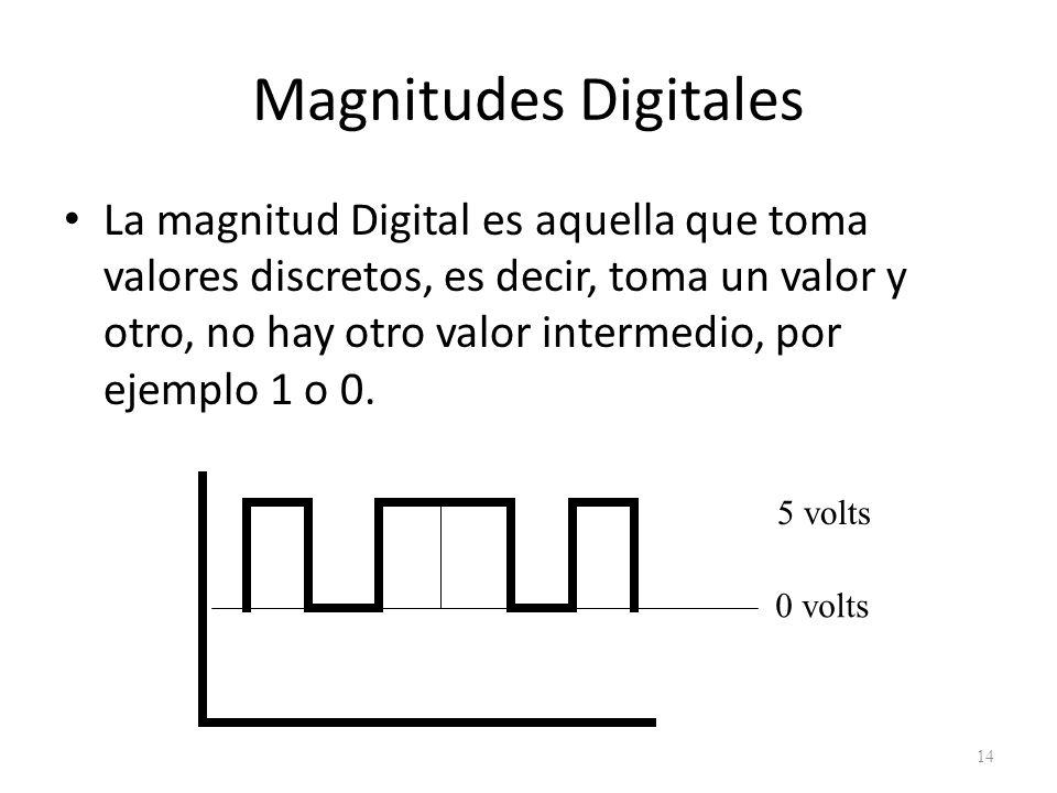 Magnitudes Digitales