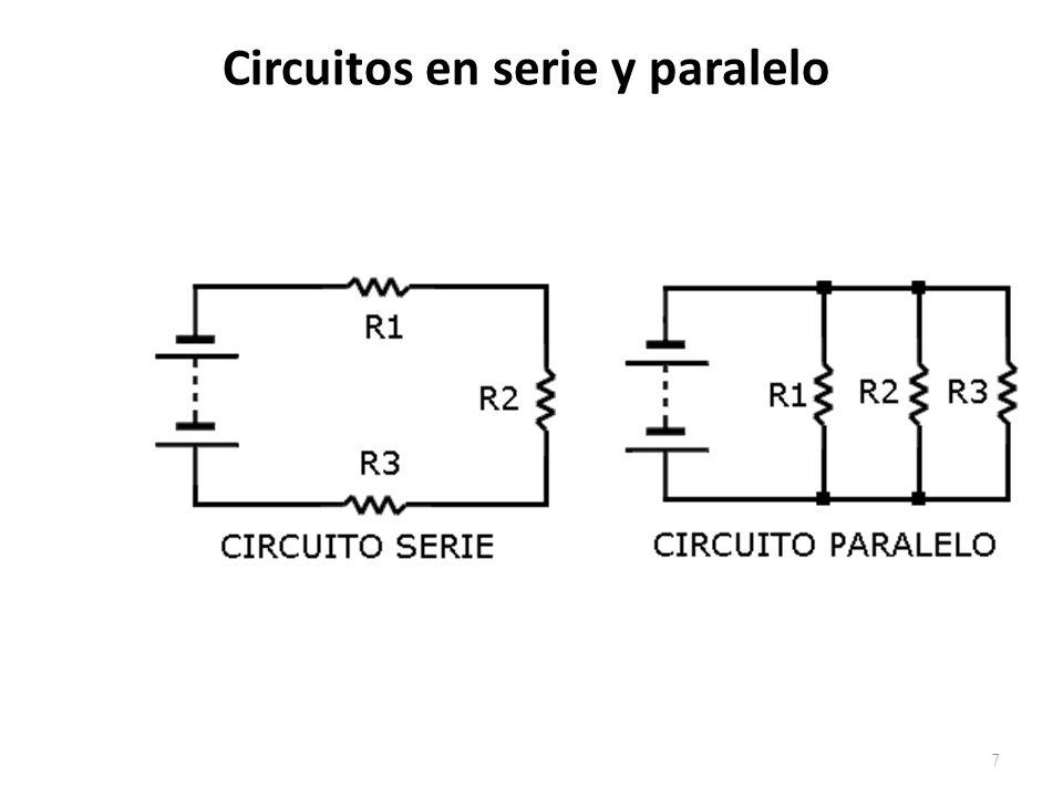 Circuitos en serie y paralelo