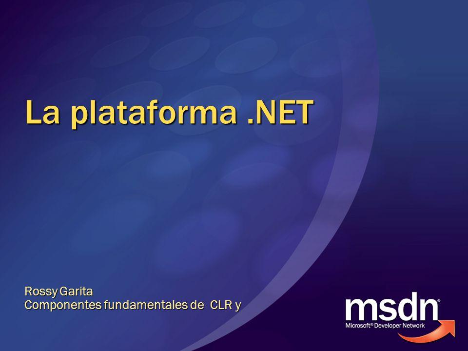 Rossy Garita Componentes fundamentales de CLR y