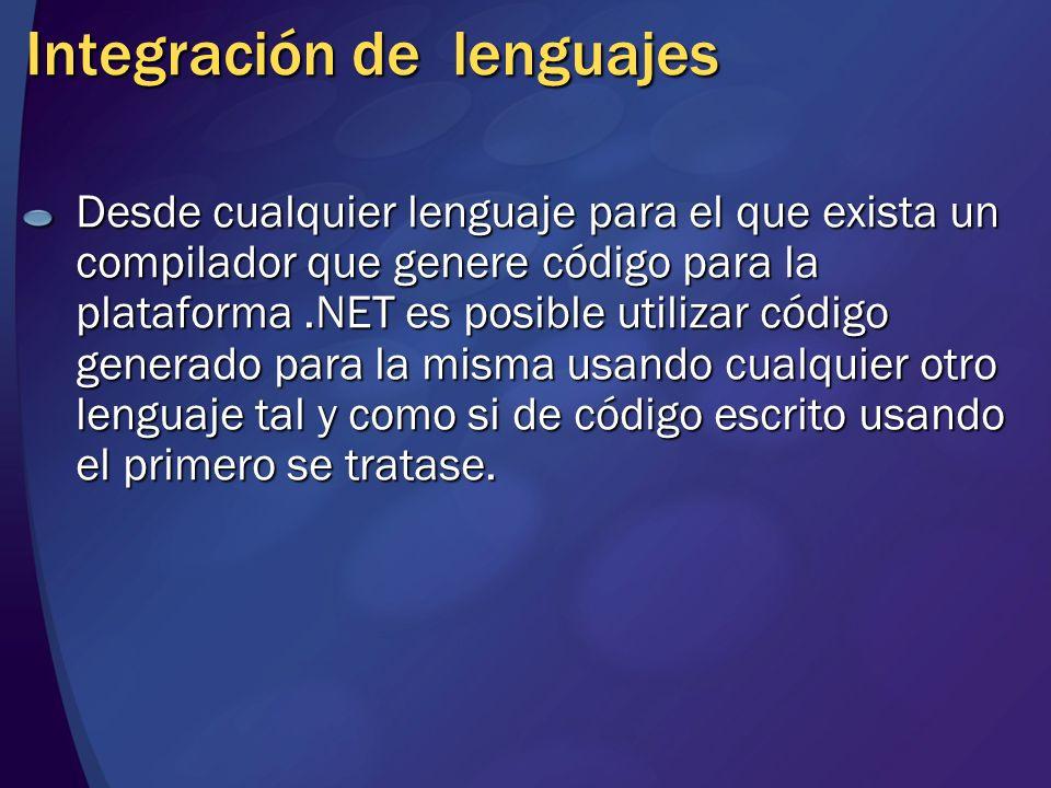 Integración de lenguajes