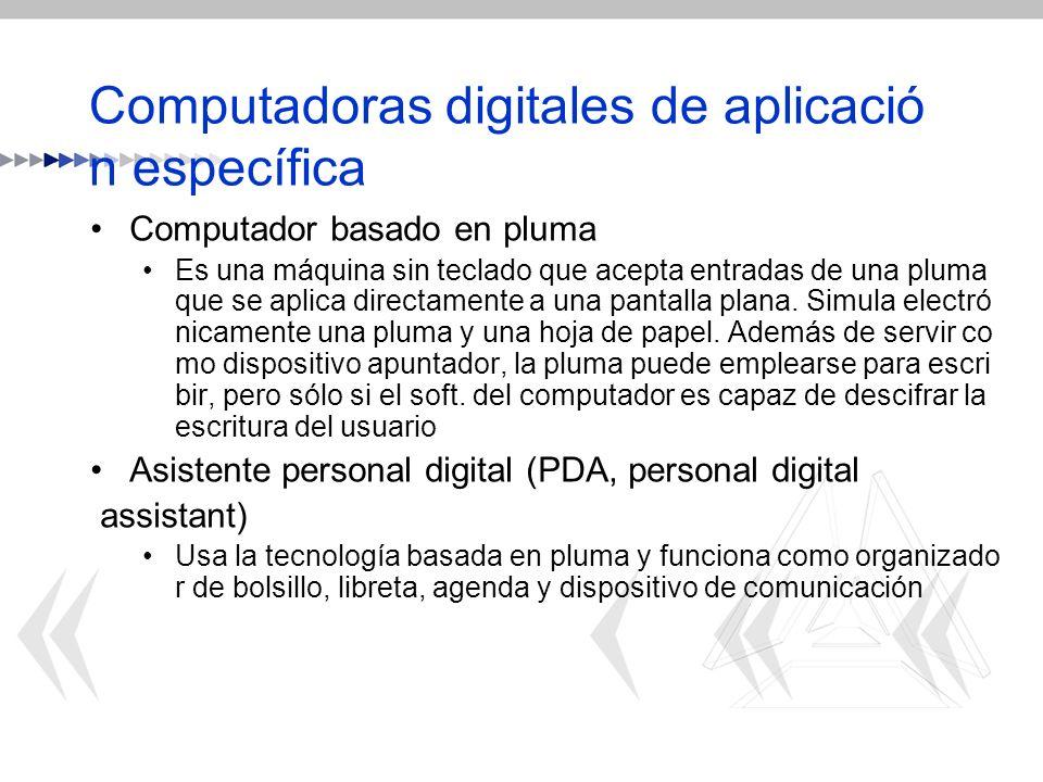 Computadoras digitales de aplicación específica