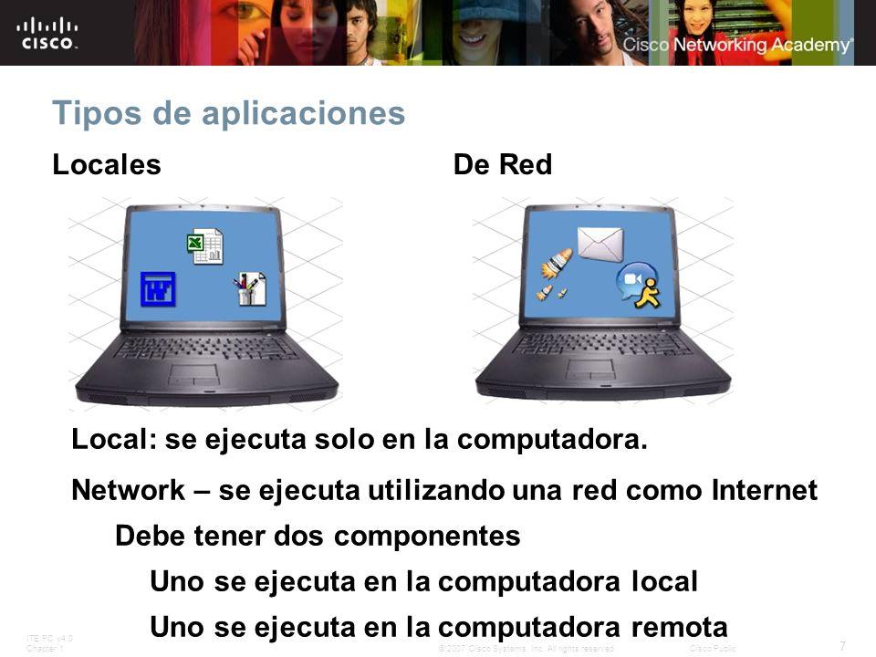 Tipos de aplicaciones Locales De Red