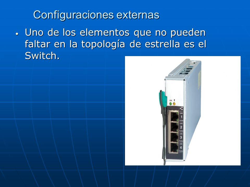 Configuraciones externas