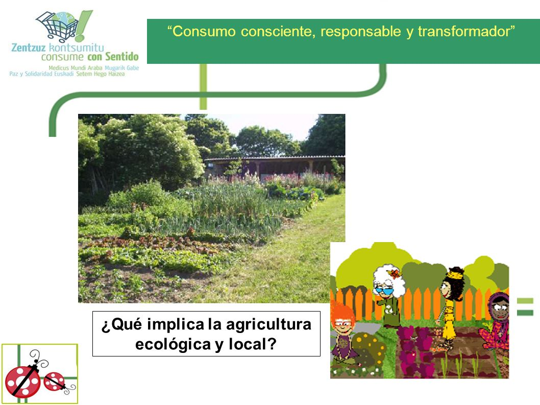 ¿Qué implica la agricultura ecológica y local