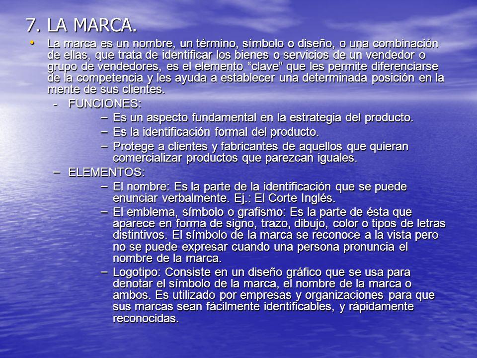 7. LA MARCA.