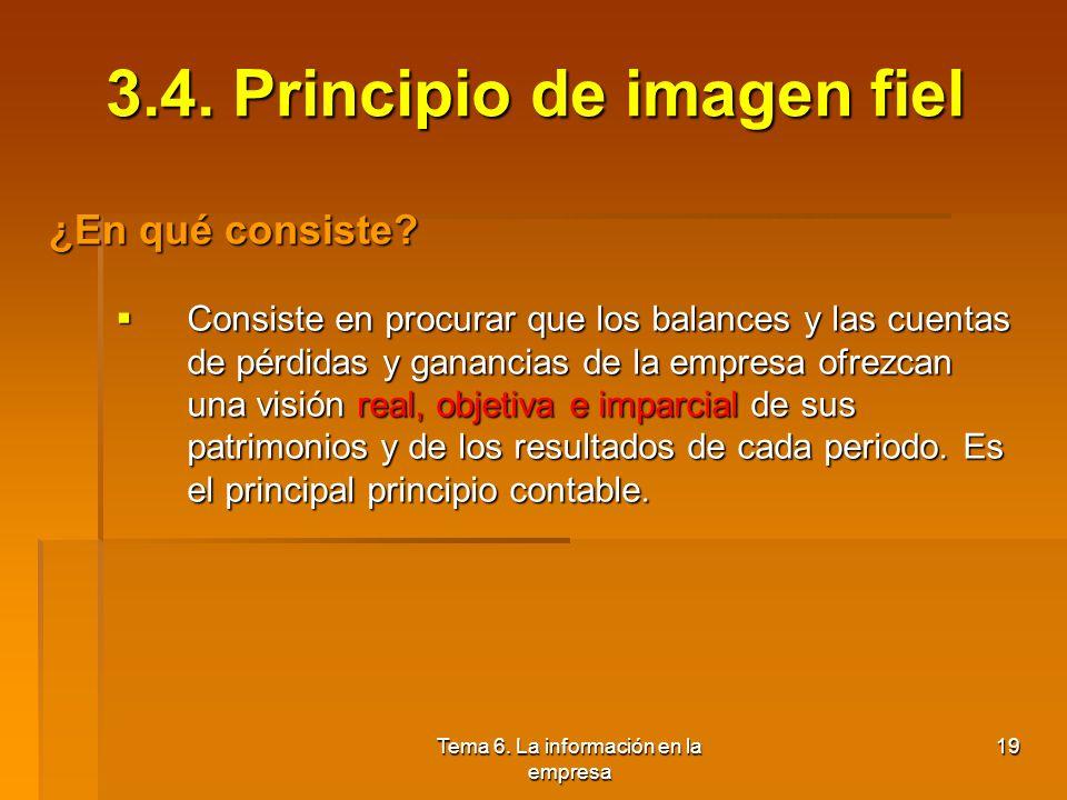 3.4. Principio de imagen fiel
