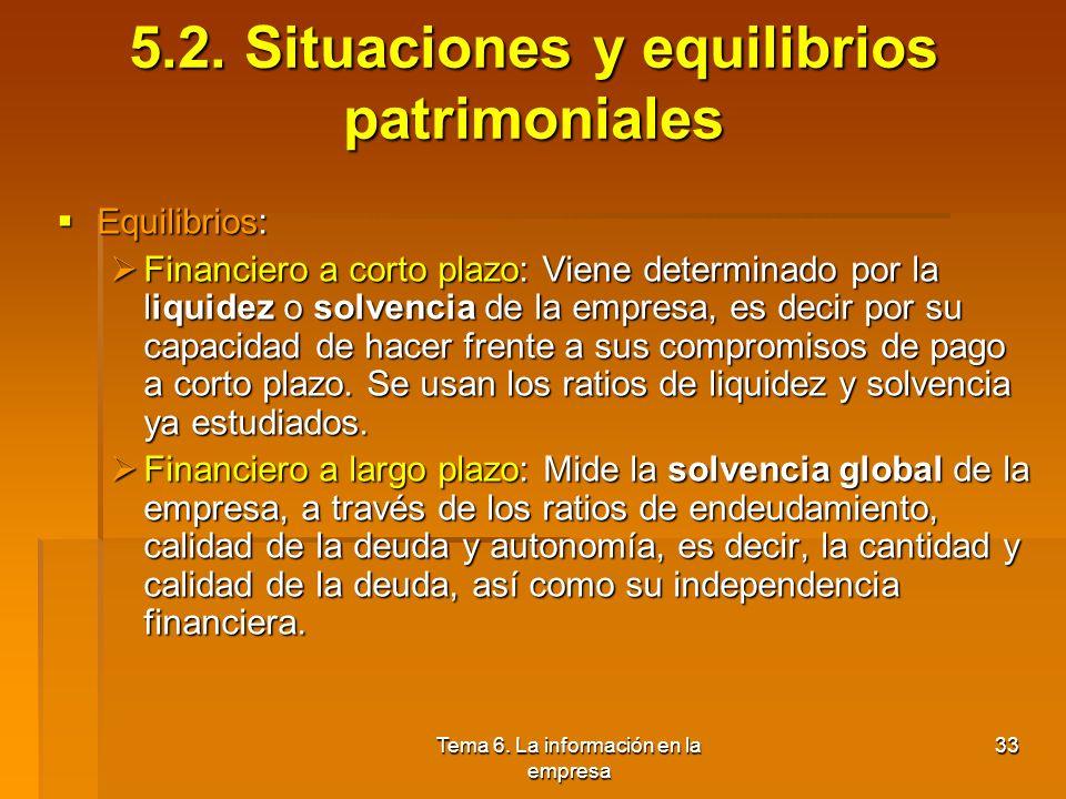 5.2. Situaciones y equilibrios patrimoniales