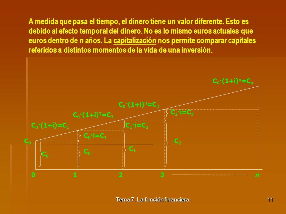 Tema 7. La función financiera