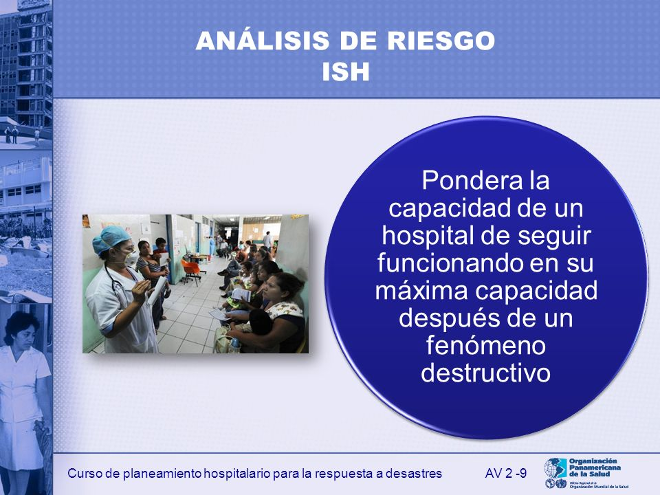 ANÁLISIS DE RIESGO ISH AV 2 -9