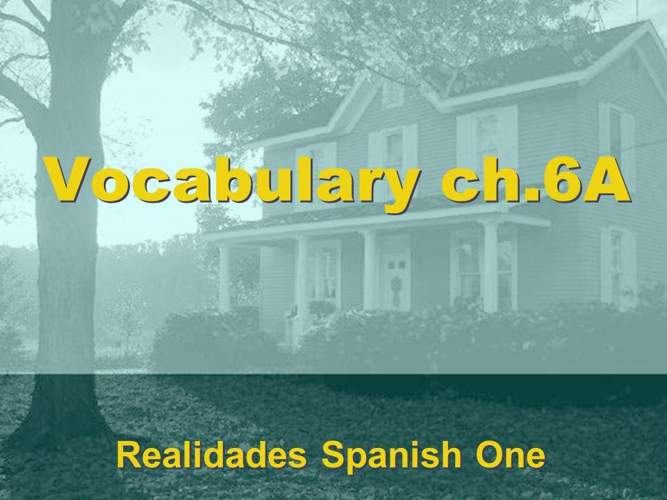 Realidades Spanish One