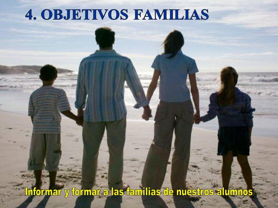 Informar y formar a las familias de nuestros alumnos