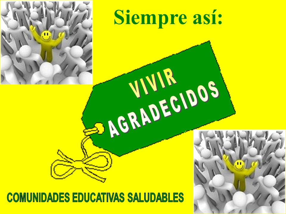 COMUNIDADES EDUCATIVAS SALUDABLES