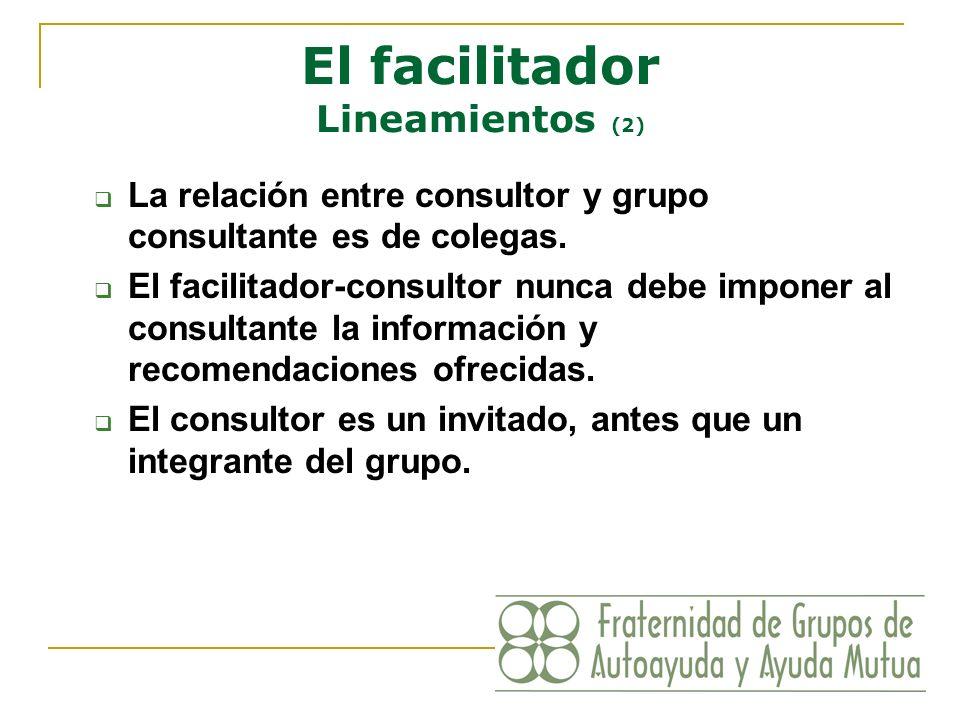 El facilitador Lineamientos (2)
