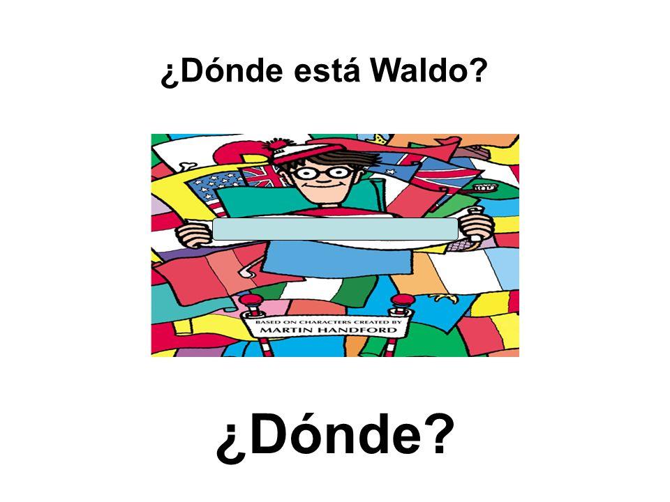¿Dónde está Waldo ¿Dónde