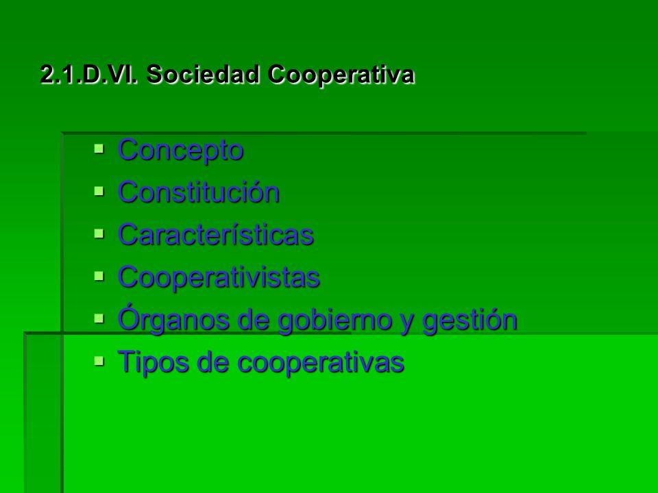 2.1.D.VI. Sociedad Cooperativa