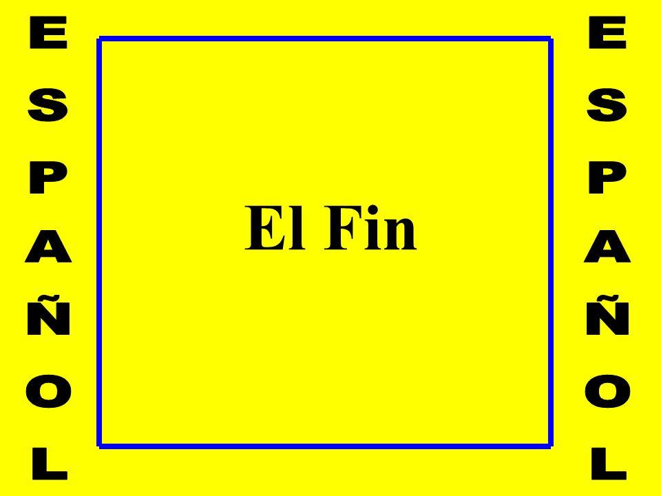El Fin ESPAÑOL ESPAÑOL