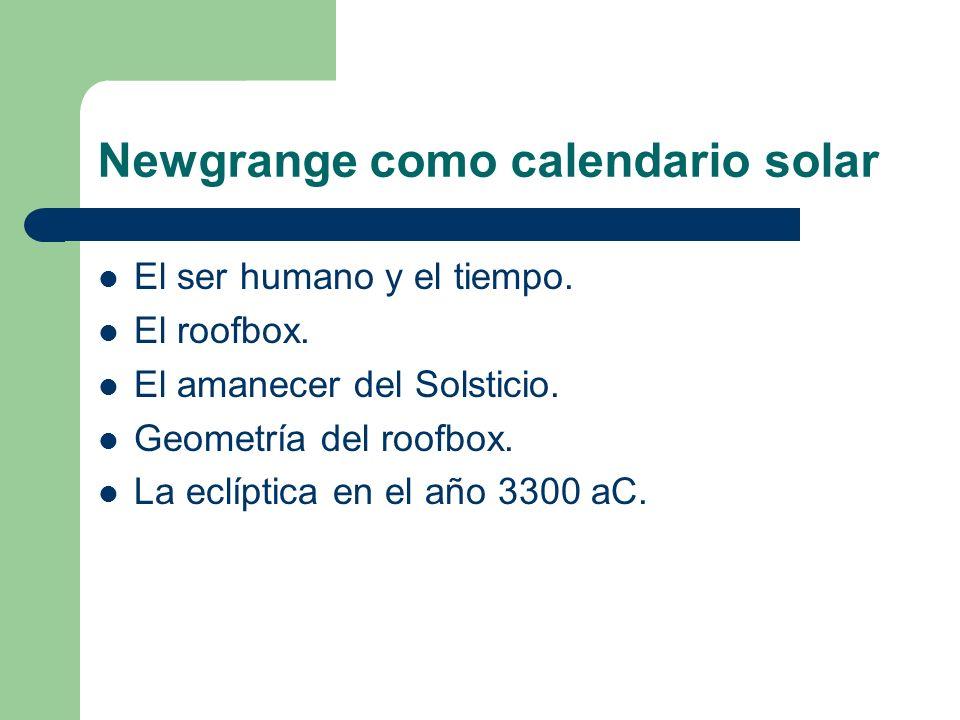 Newgrange como calendario solar