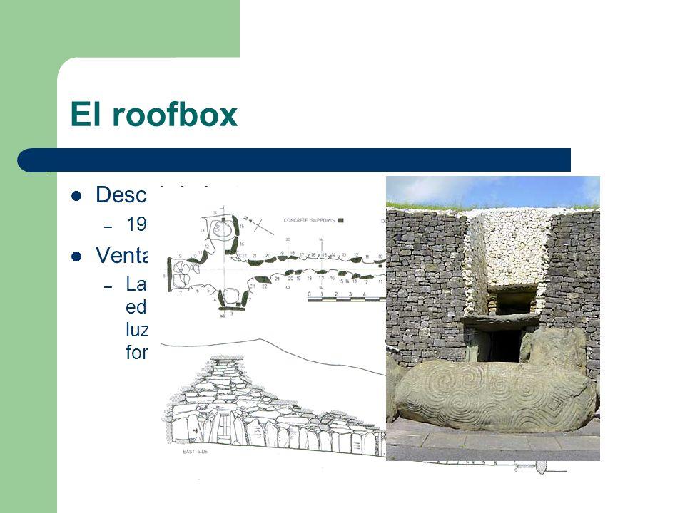 El roofbox Descubrimiento: Ventajas: 1969 por O Kelly