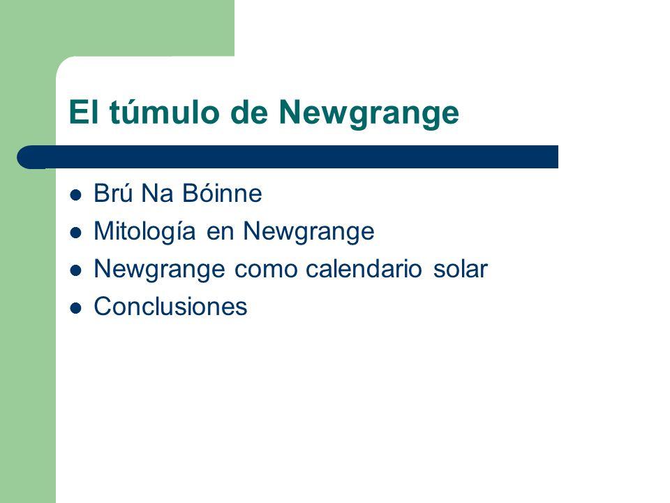 El túmulo de Newgrange Brú Na Bóinne Mitología en Newgrange