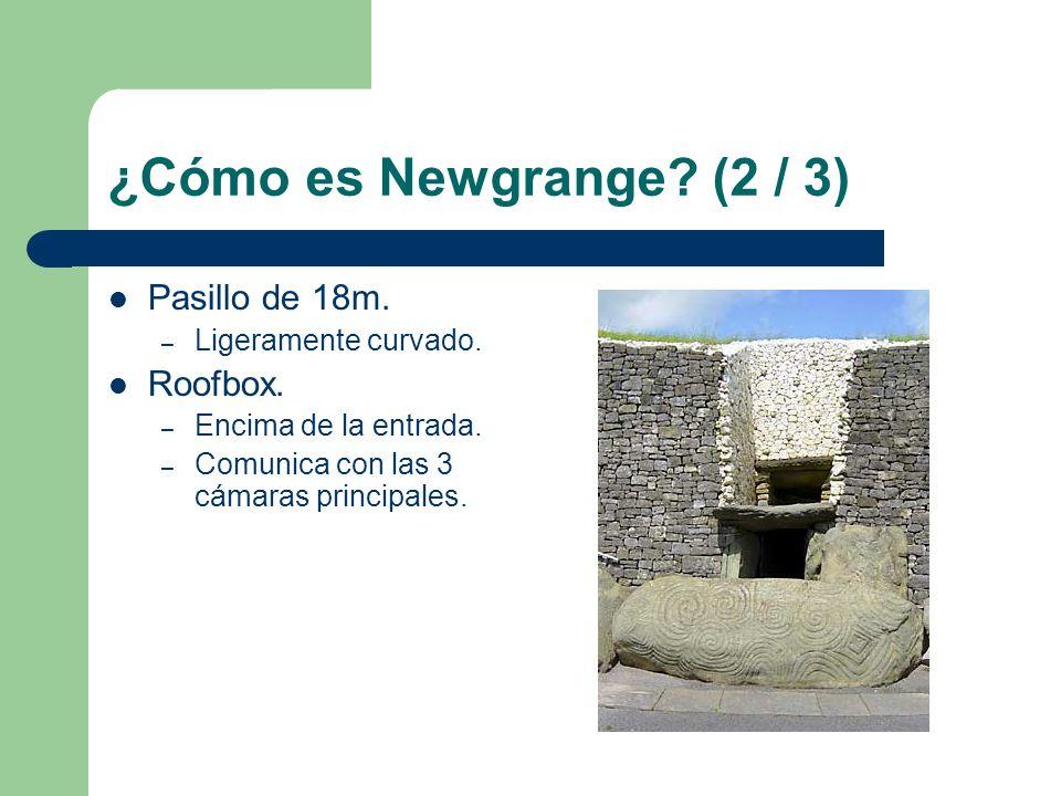 ¿Cómo es Newgrange (2 / 3) Pasillo de 18m. Roofbox.