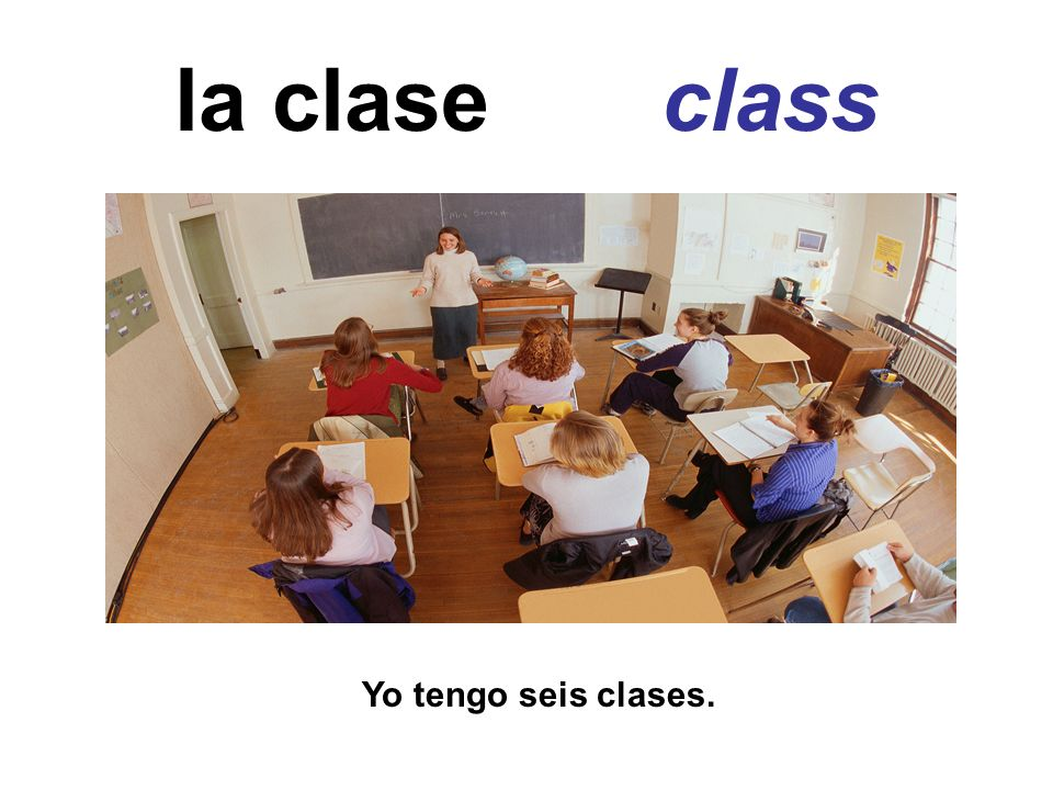 la clase class Yo tengo seis clases.