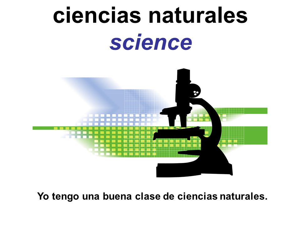 ciencias naturales science
