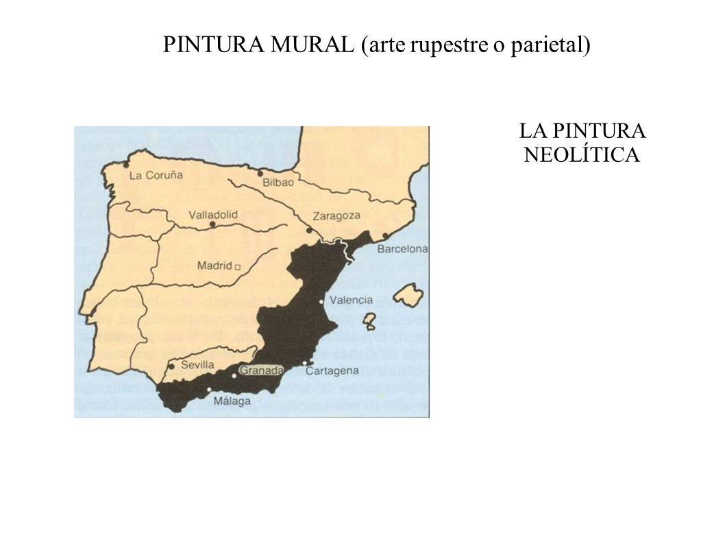 PINTURA MURAL (arte rupestre o parietal)