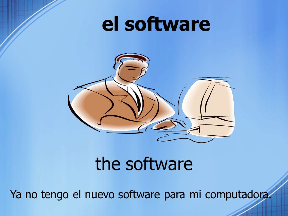 el software the software