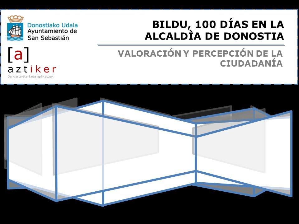 BILDU, 100 DÍAS EN LA ALCALDÌA DE DONOSTIA