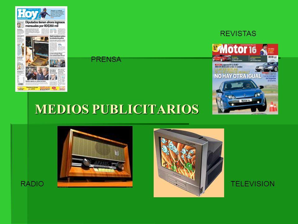 REVISTAS PRENSA MEDIOS PUBLICITARIOS RADIO TELEVISION