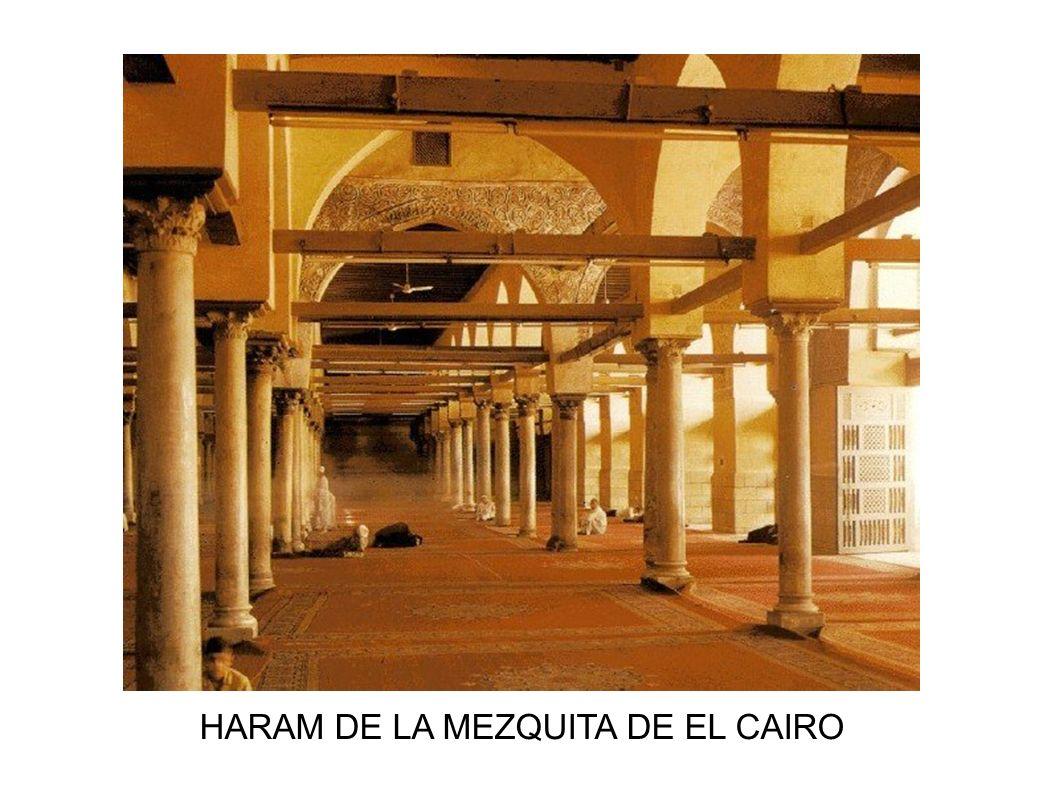 HARAM DE LA MEZQUITA DE EL CAIRO