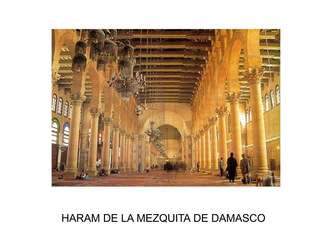 HARAM DE LA MEZQUITA DE DAMASCO