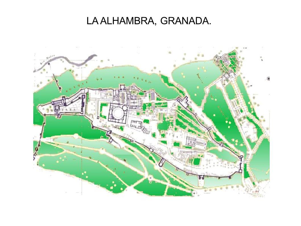 LA ALHAMBRA, GRANADA.